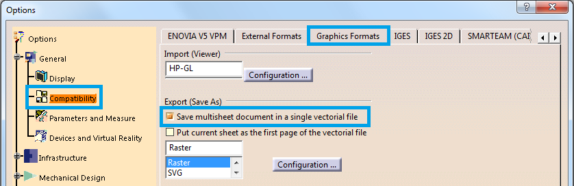 Export multiple drawing sheets in one PDF
