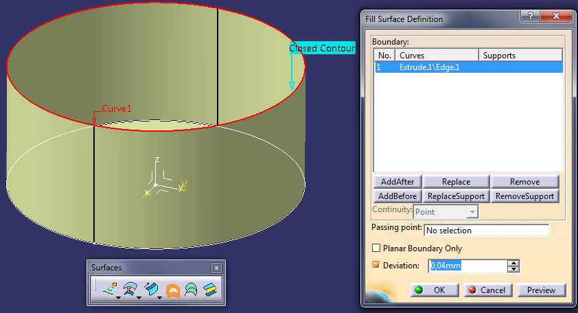 CATIA Generative Shape Design – beginner tutorial