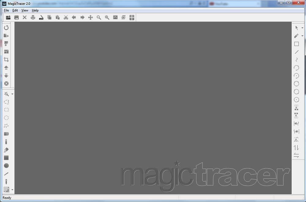 Create a raster image and import in CATIA