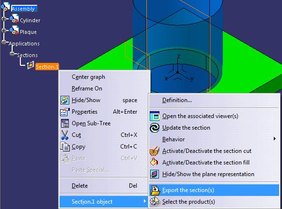 Export-section-CATIA-V5-assembly-module-#3