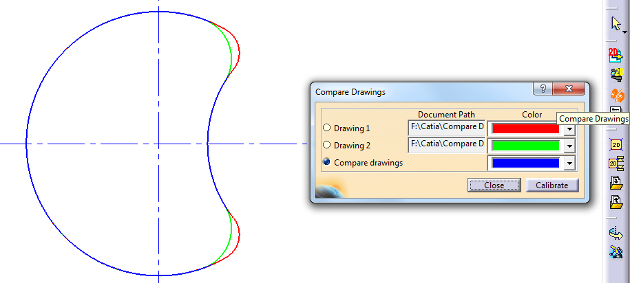 compare-drawings-catia-v5-tutorial